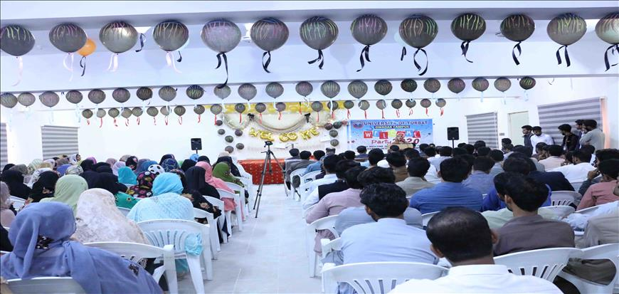 Senior students organized program to welcome fresh students at Gwadar Campus
