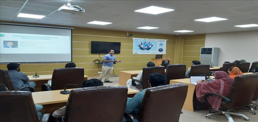 Workshop held in Main Campus and Gwadar Campus of UoT
