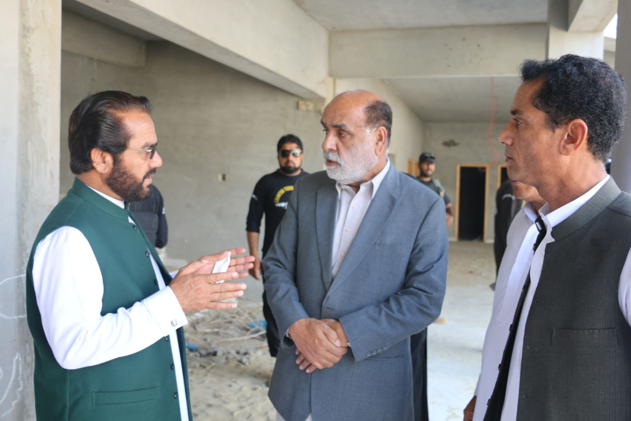 Chief Justice BHC visit & Meeting at UoT Gawadar Campus