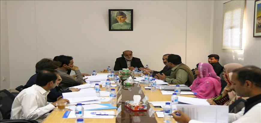 10th meeting of Academic Council held in Turbat University