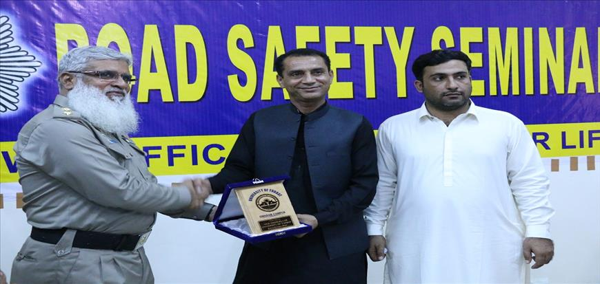 Road safety seminar held at UoT Gwadar Campus