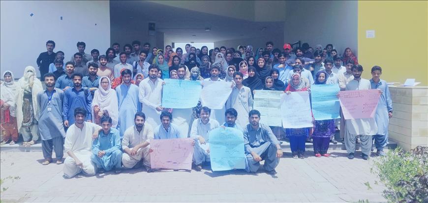 Turbat University Celebrates Earth Day 2019