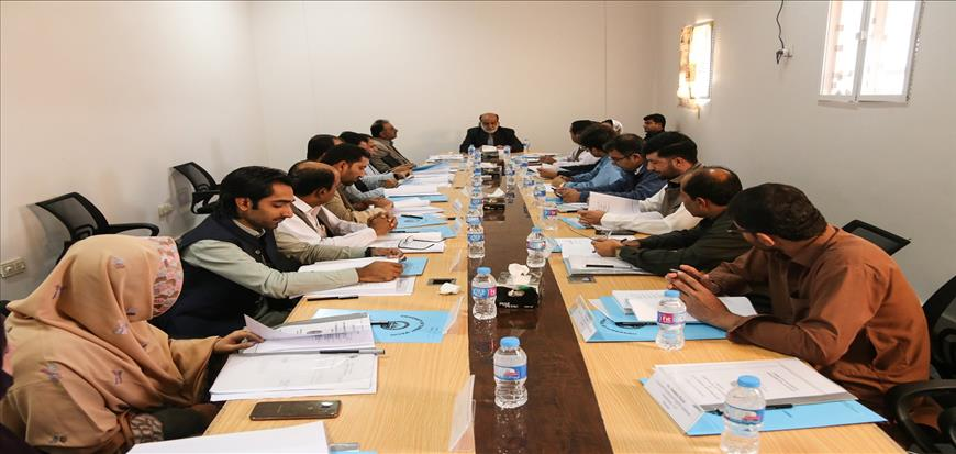 9th meeting of Academic Council held in University of Turbat
