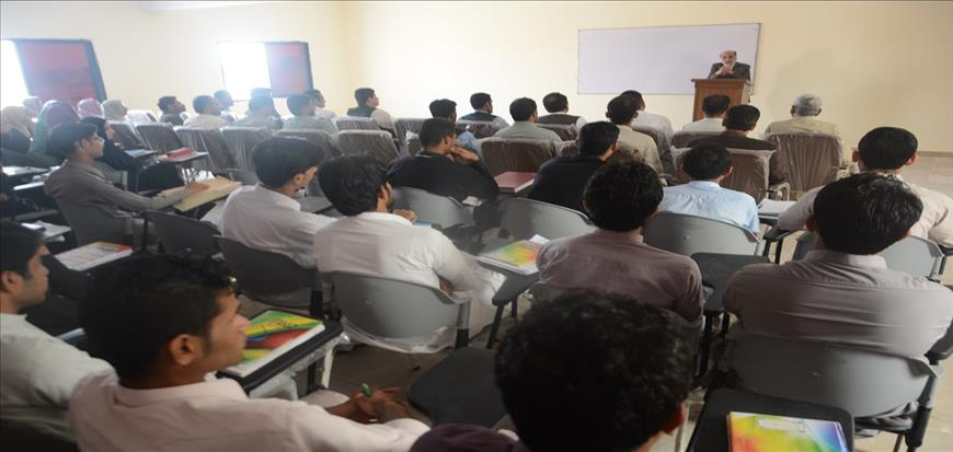 VC meeting and address at Gwadar Campus