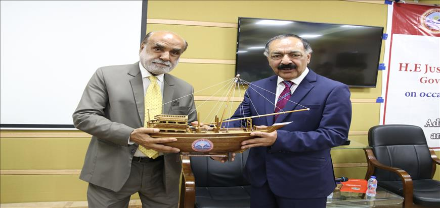 Governor Balochistan envisions UoT as one of best university in coming years