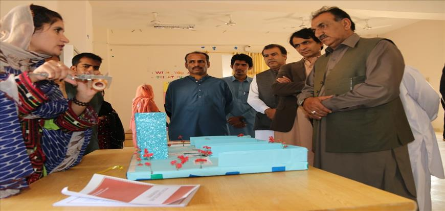 Exhibition of Project Teaching Method held in UoT