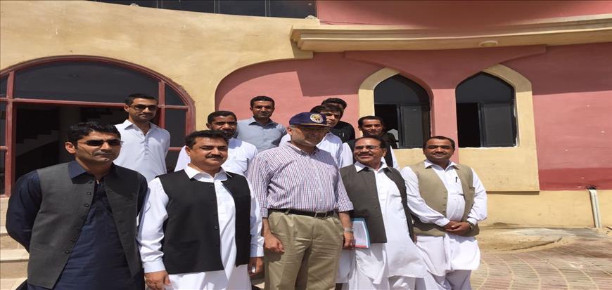 Ahsan Iqbal visits University of Turbat Sub Campus Gwadar
