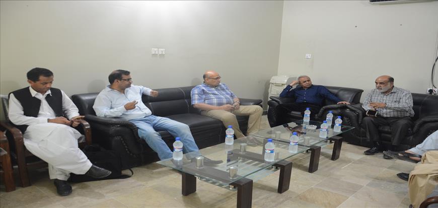 HEC delegation visits UoT