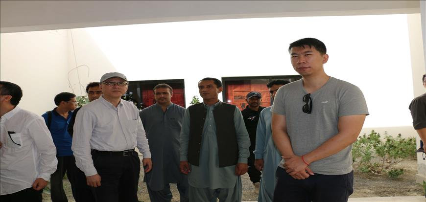 A delegation from China visited UoT Gwadar Campus