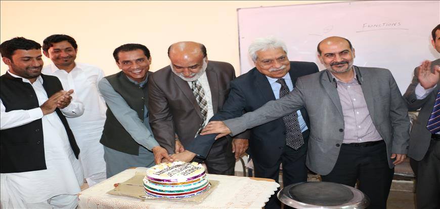Gwadar Campus celebrates its 1st anniversary