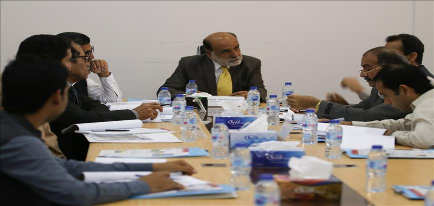 9th meeting of Finance and Planning Committee of UoT held