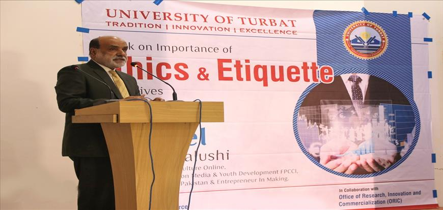 "ORIC organized Lecture program on ""Ethics & Etiquette in our life"" at UoT"