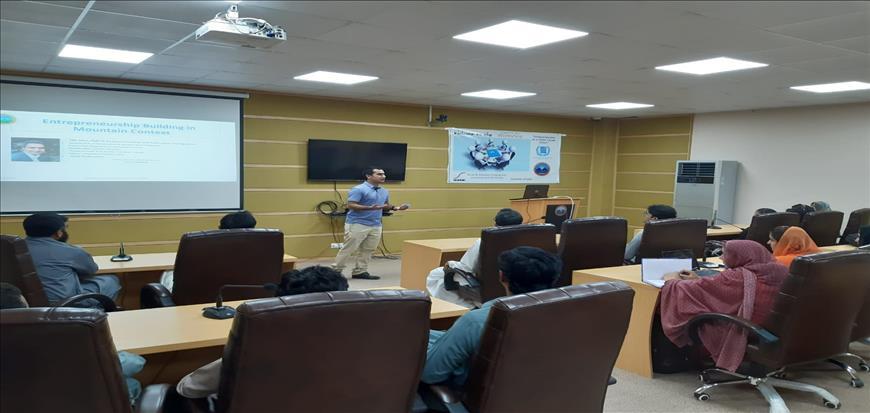 Workshop held in Main Campus and Gwadar Campus of UoT