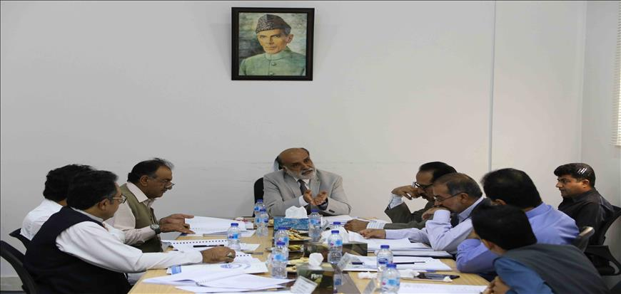Vice chancellor chaired the 9th meeting of Syndicate