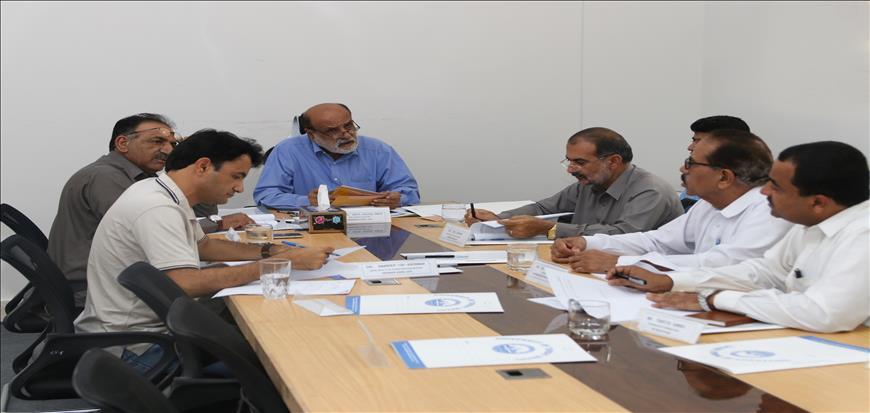 Turbat University hold its 8th meeting of ASRB