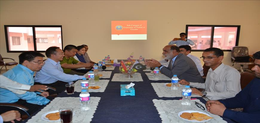 Chinese Consulate team Visits Gwadar Campus
