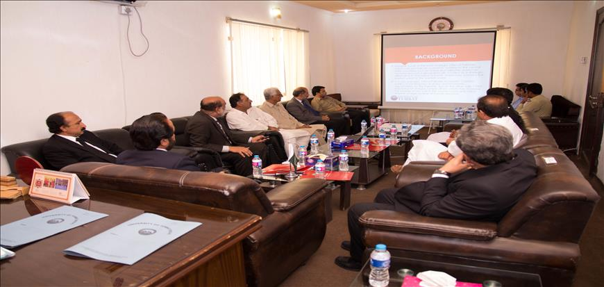 Chief Justice BHC visits Turbat University