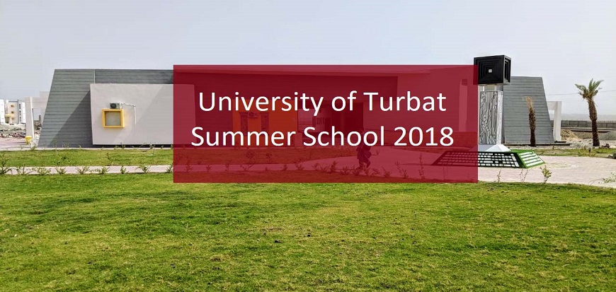 University of Turbat Summer School 2018