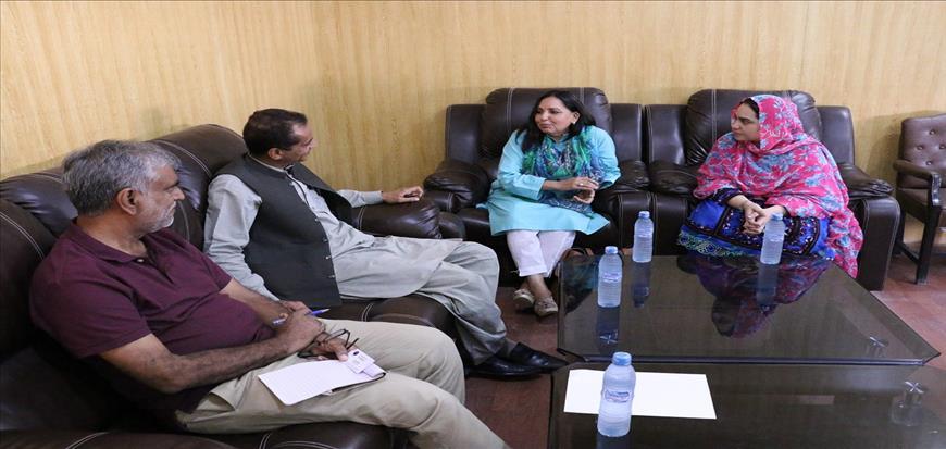 Lecturer program at UoT Gwadar Campus by DG NIO