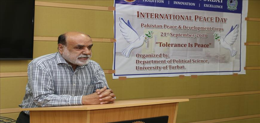 International Peace Day observed in University of Turbat