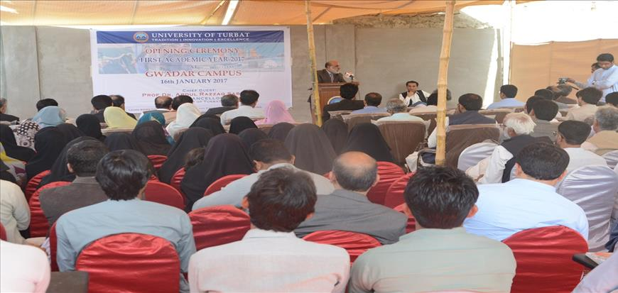 Academic Activities started at Gwadar Campus