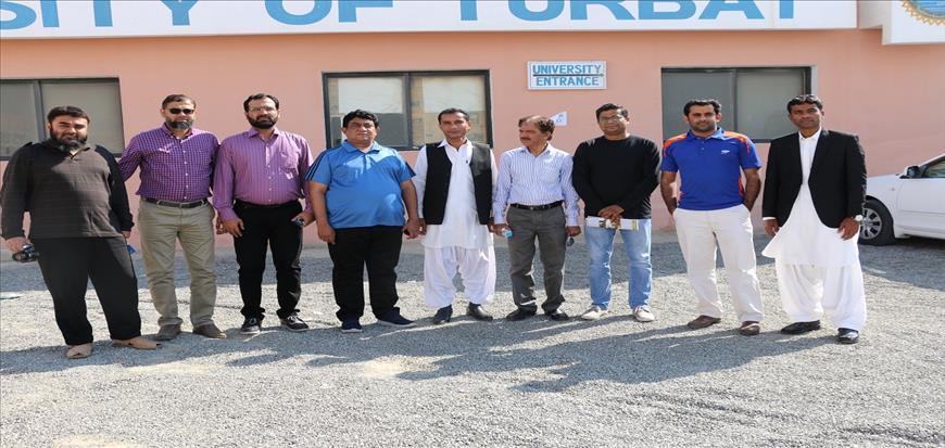Karachi University delegation visited Gwadar campus of UoT