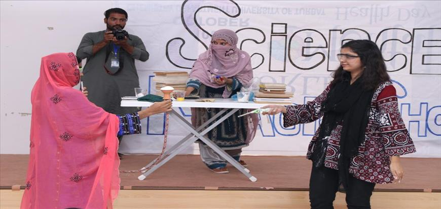Science Magic Show and Science Communicators Workshop held in University of Turbat