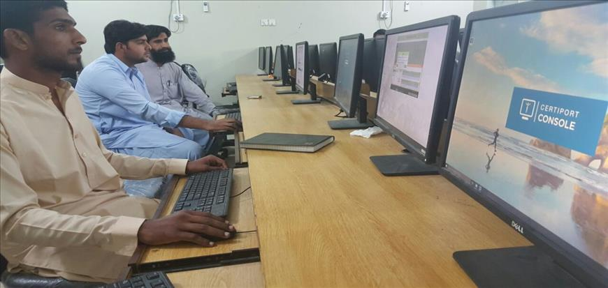 University of Turbat establishes Microsoft IT Academy and Certiport