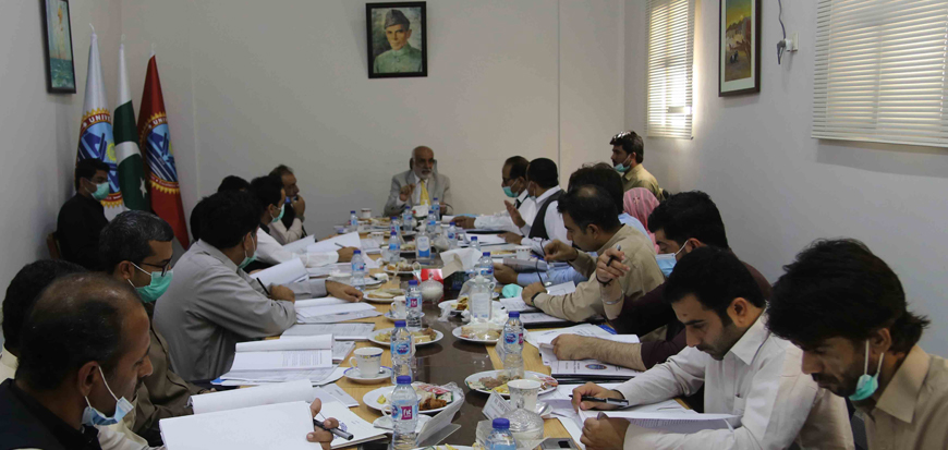 Turbat University holds 11th meeting of Academic Council
