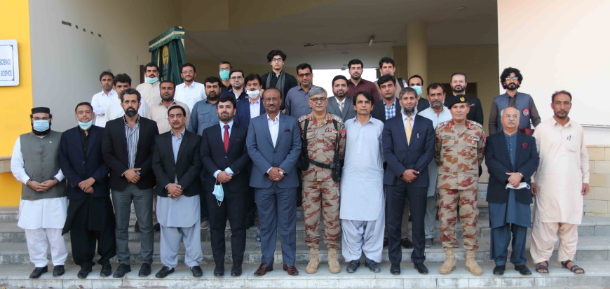 RCCI delegation visits Turbat University