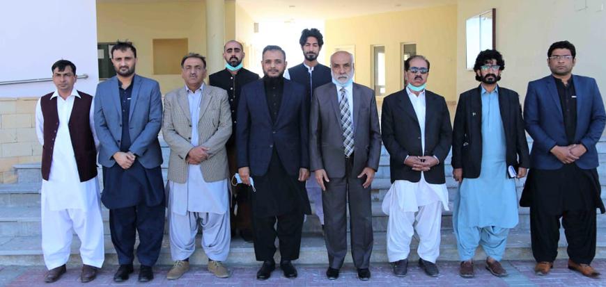 ISPR delegation visits Turbat University