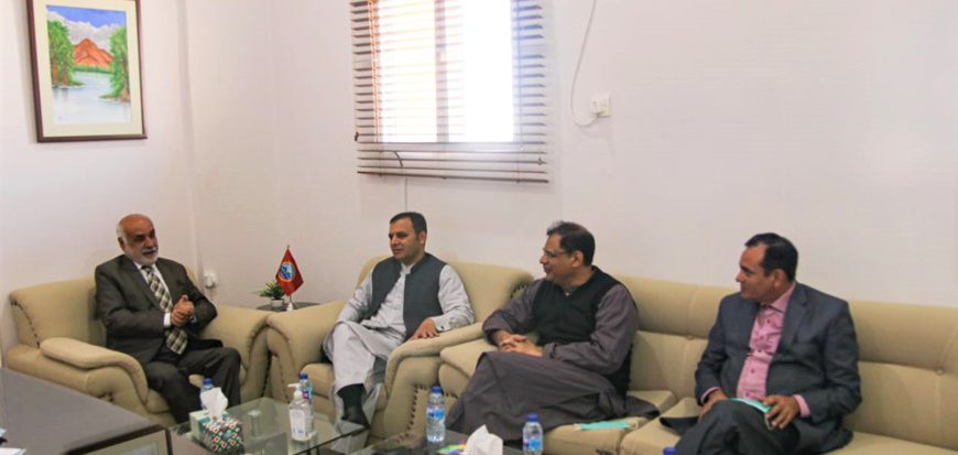 HEC team visits UoT's Panjgur Campus