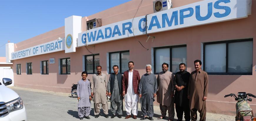 MPA Mir Hamal Kalmati visit Gwadar Campus