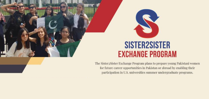 Society for International Education announces the opening of the applications for the selection process of Sister2Sister Exchange Program 2021