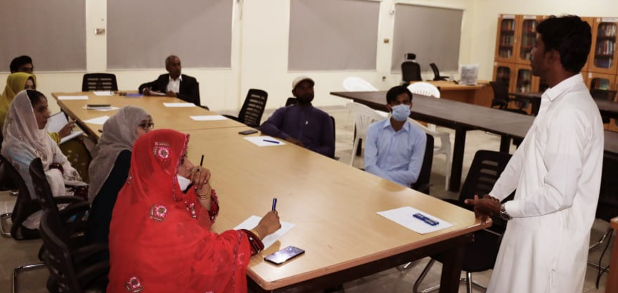 Orientation Session for Faculty Arranged in UoT's Gwadar Campus