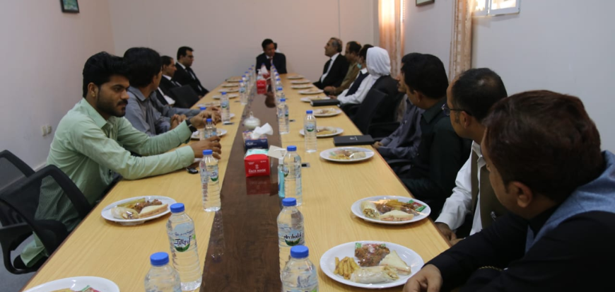 Justice Hashim Khan Kakar visits Main Campus & Law Faculty of UoT
