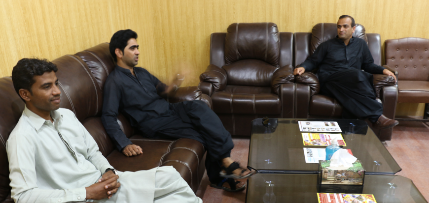 Director Wadh Campus of LUAWMS visits UoT's Gwadar Campus