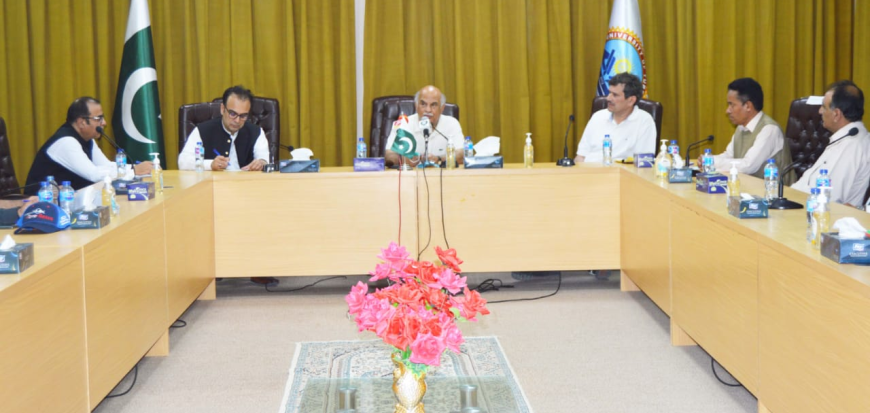 Turbat University project is very important, Deputy Chairman Planning Commission
