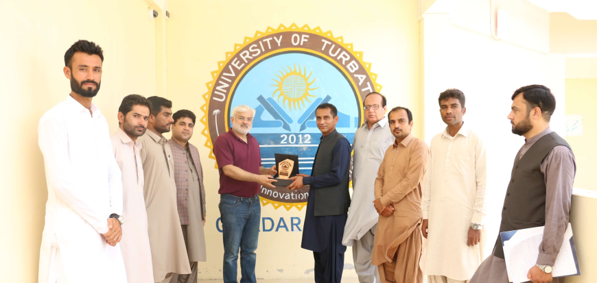 A team from M&E Division of HEC visits UoT's Gwadar Campus