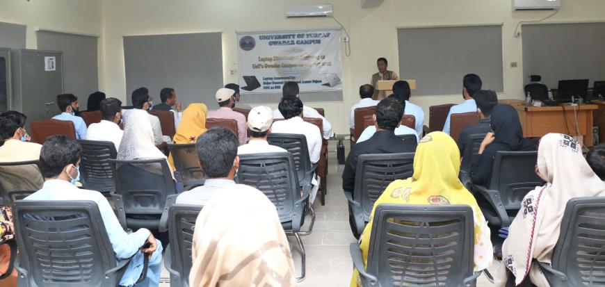 VC UoT visits UoT's Gwadar campus