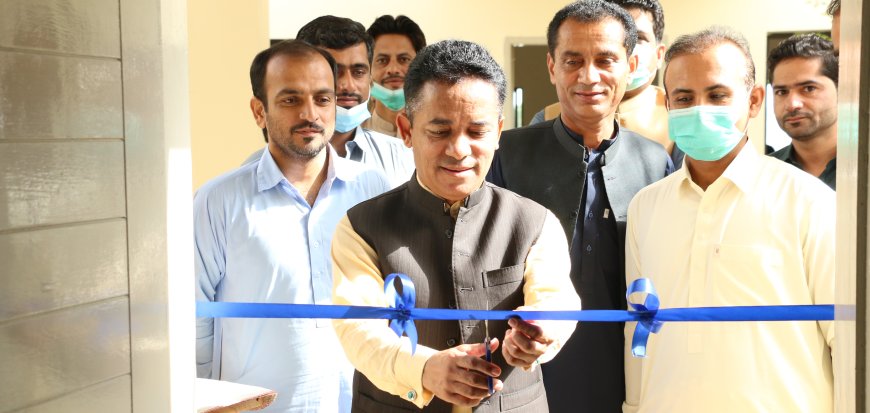 Vice Chancellor inaugurates System Lab in Gwadar Campus of UoT