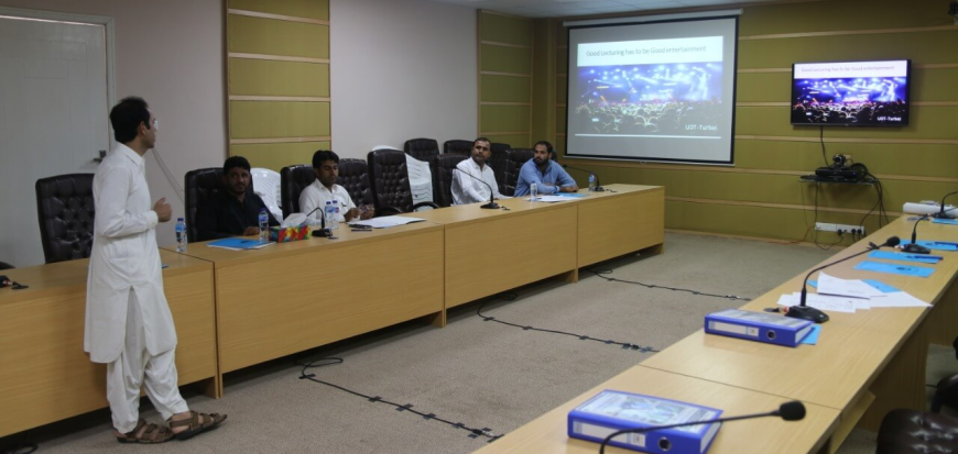 A Three Day Training Workshop organized for Teaching Fellows at UoT