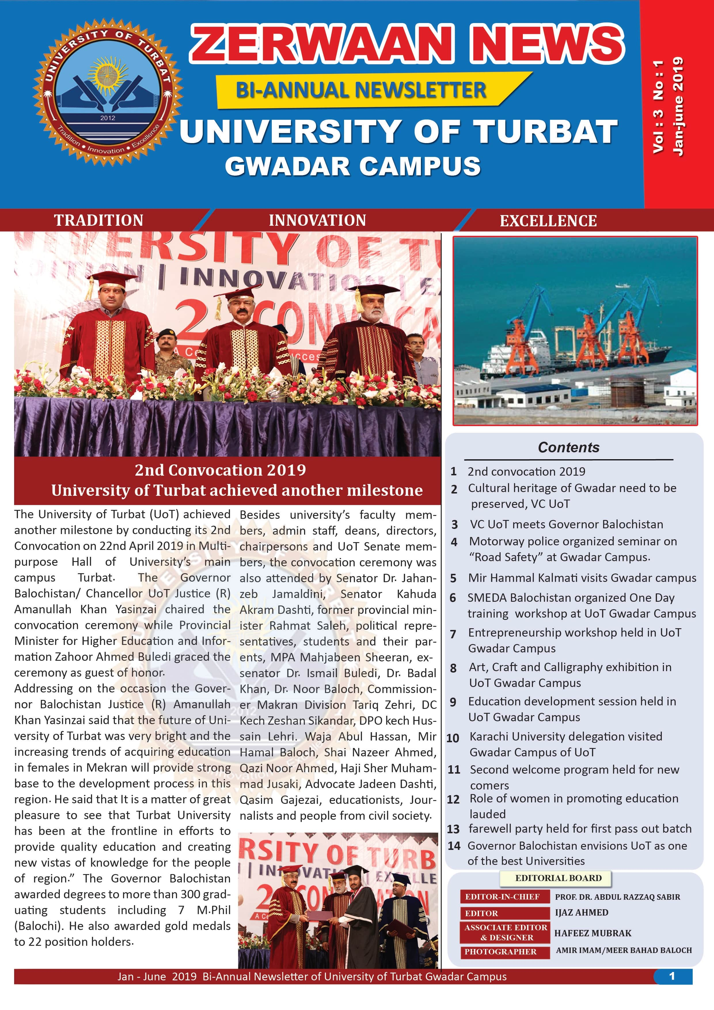 Zerwaan News January-June 2019 Edition